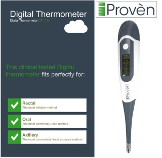 iproven rectal oral axillary thermometer