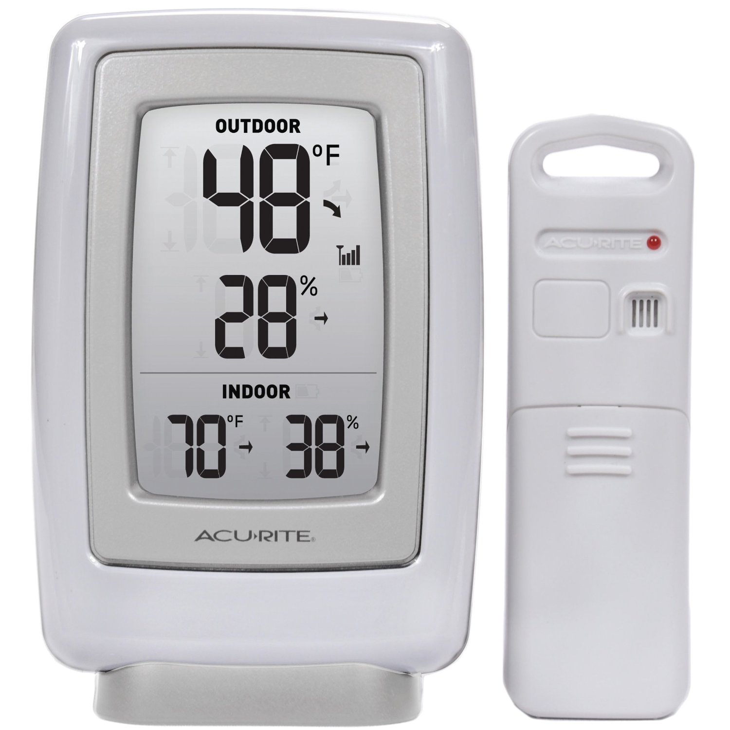 Acurite 00782a2 Wireless Indoor Outdoor Thermometer Manual Guide