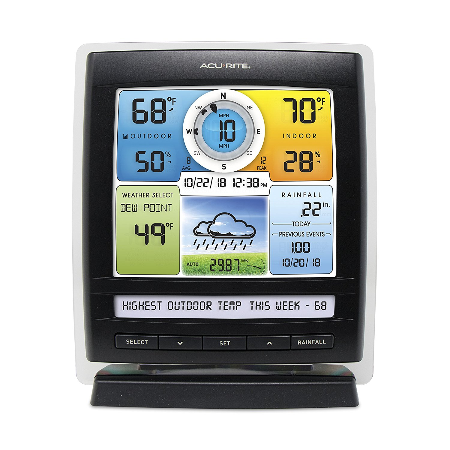 AcuRite 01512 Pro Color Weather Station Review ...