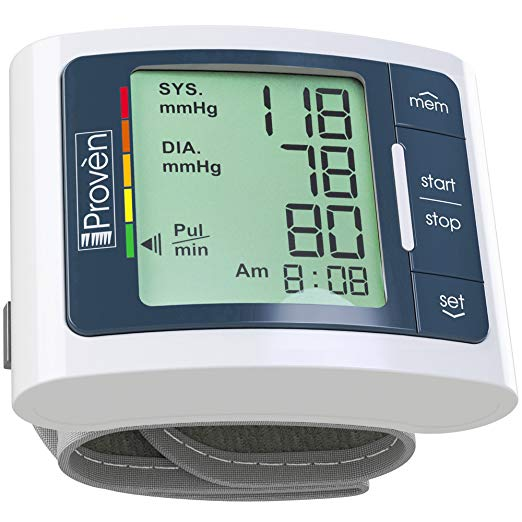 Iproven Bpm 337 Wrist Blood Pressure Monitor Review Thermometer
