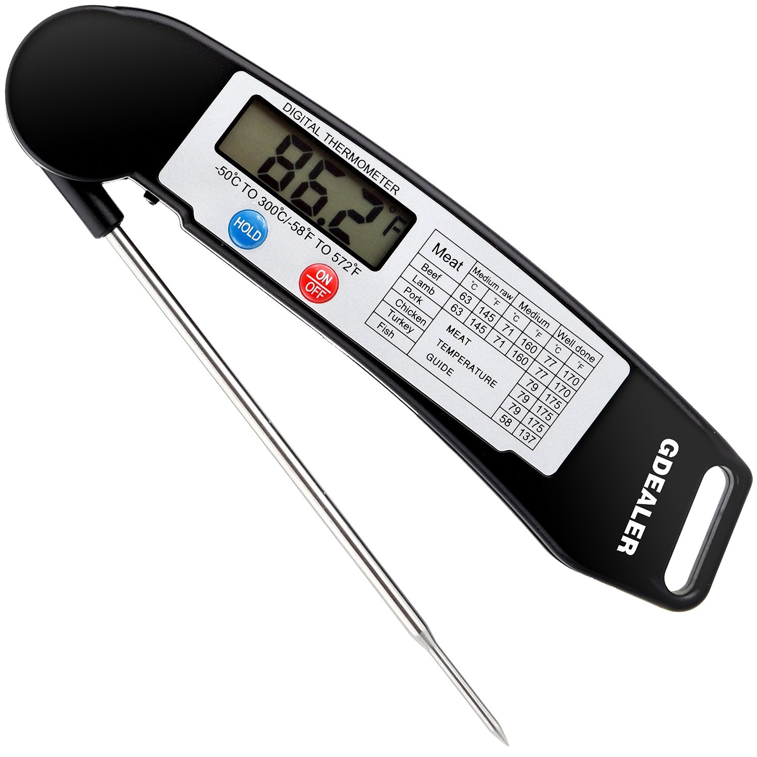 Top 10 Best Sellers in Instant Read Thermometers – Jan 2017 - Thermometer Reviews